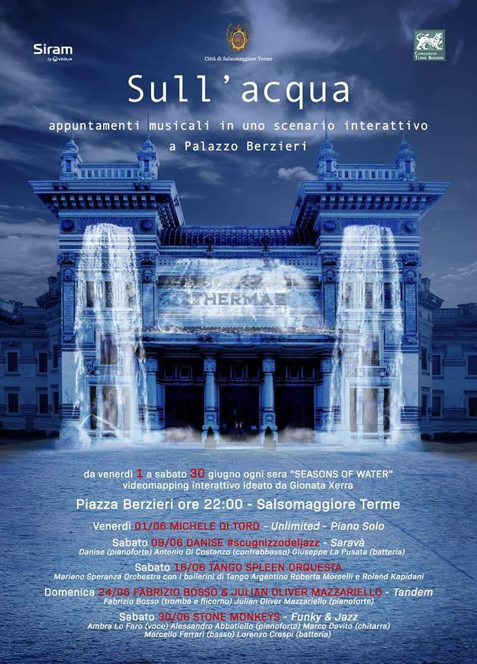 Sull'Acqua - Appuntamenti musicali in uno scenario interattivo a Palazzo Berzieri