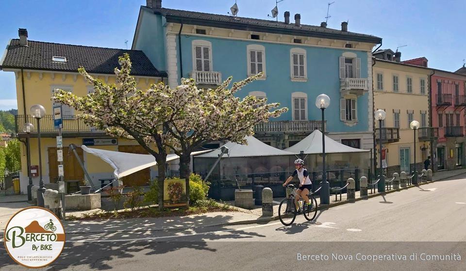 """Inaugura """"BercetoByBike - il polo cicloturistico dell'Appennino"""""""