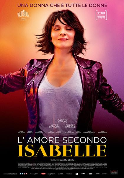 Al cinema Astra Parma  L'AMORE SECONDO ISABELLE  di Claire Denis.Con: Juliette Binoche