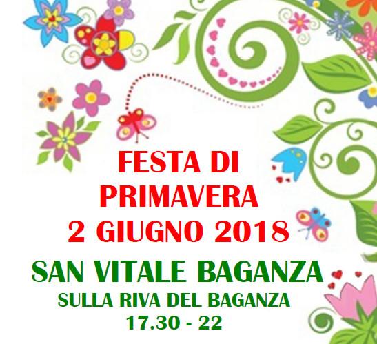 Festa di primavera a SAN VITALE, sullariva del Baganza, un pomeriggio dedicato ai bambini.