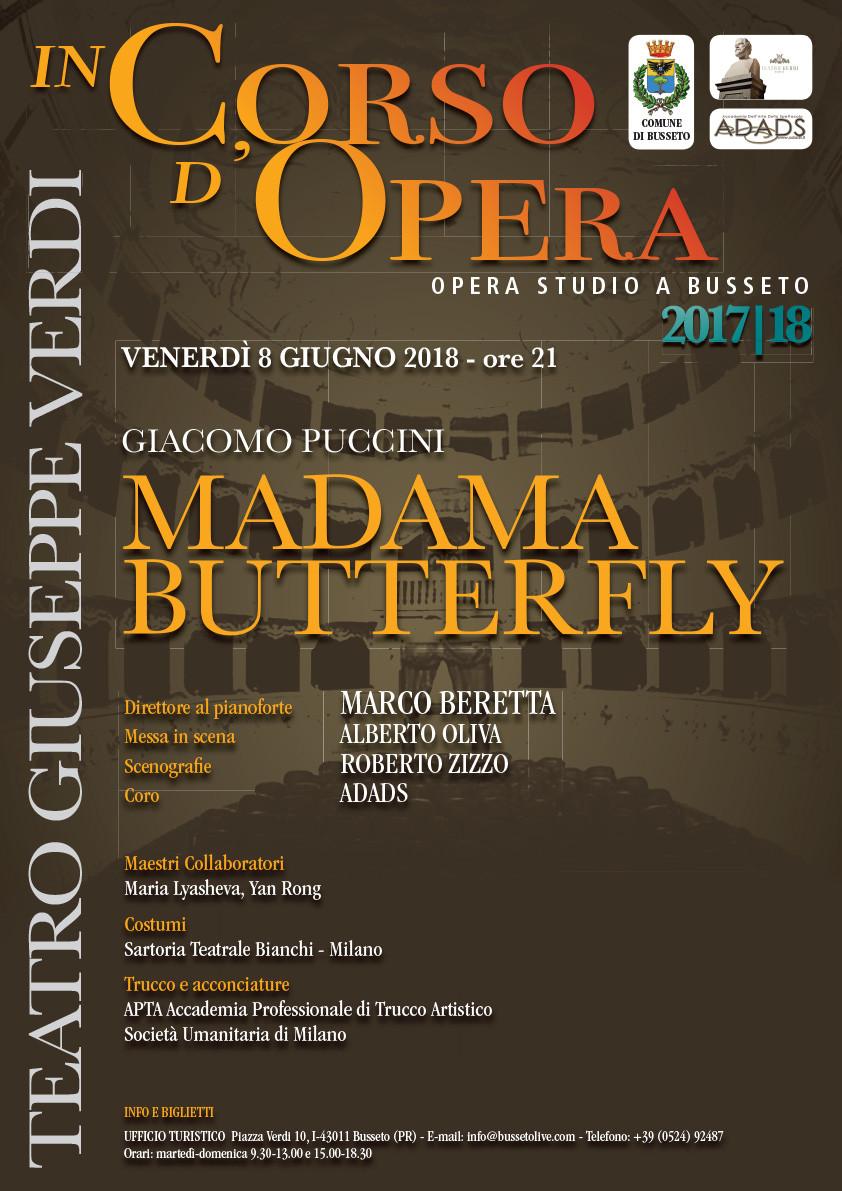 In corso d'opera - Madama Butterfly  alla Villa Pallavicino di  Busseto