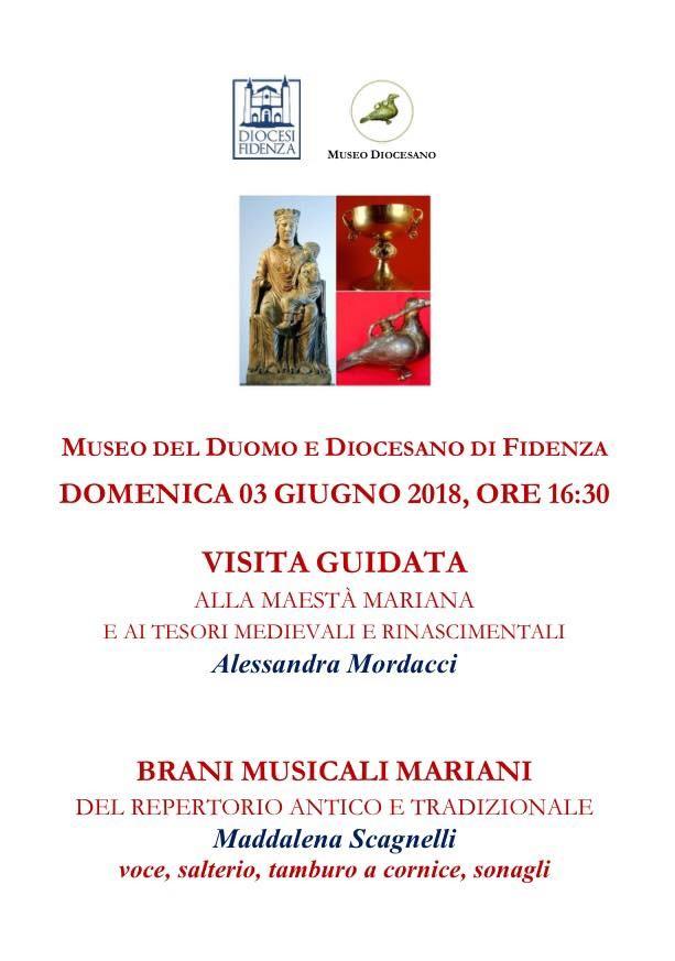 Visita guidata alla Maestà mariana di Benedetto Antelami