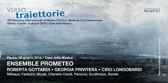 """Ensemble Prometeo per """"Verso Traiettorie..."""""""