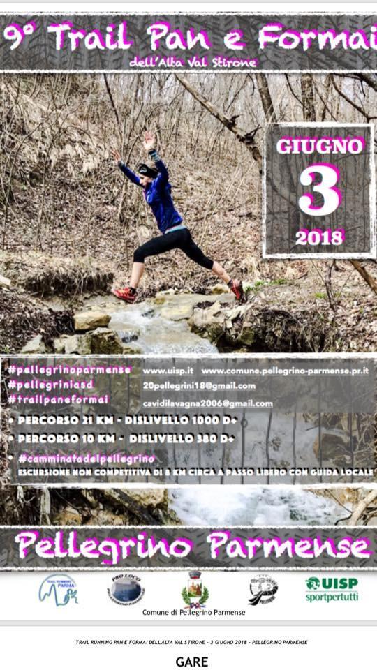 """9* Edizione Trail Running """" Pan e Formai dell'Alta Val Stirone"""