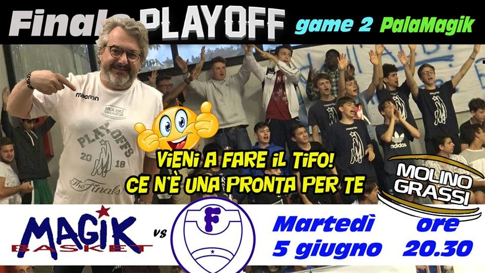 Magik Basket, finali  playoff gara 2