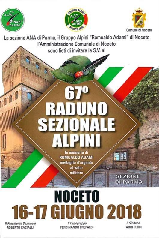 72° raduno provinciale degli alpini di Parma