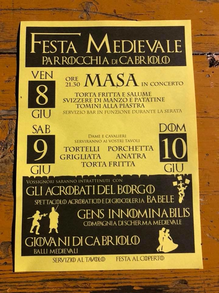 Festa Medievale di Cabriolo