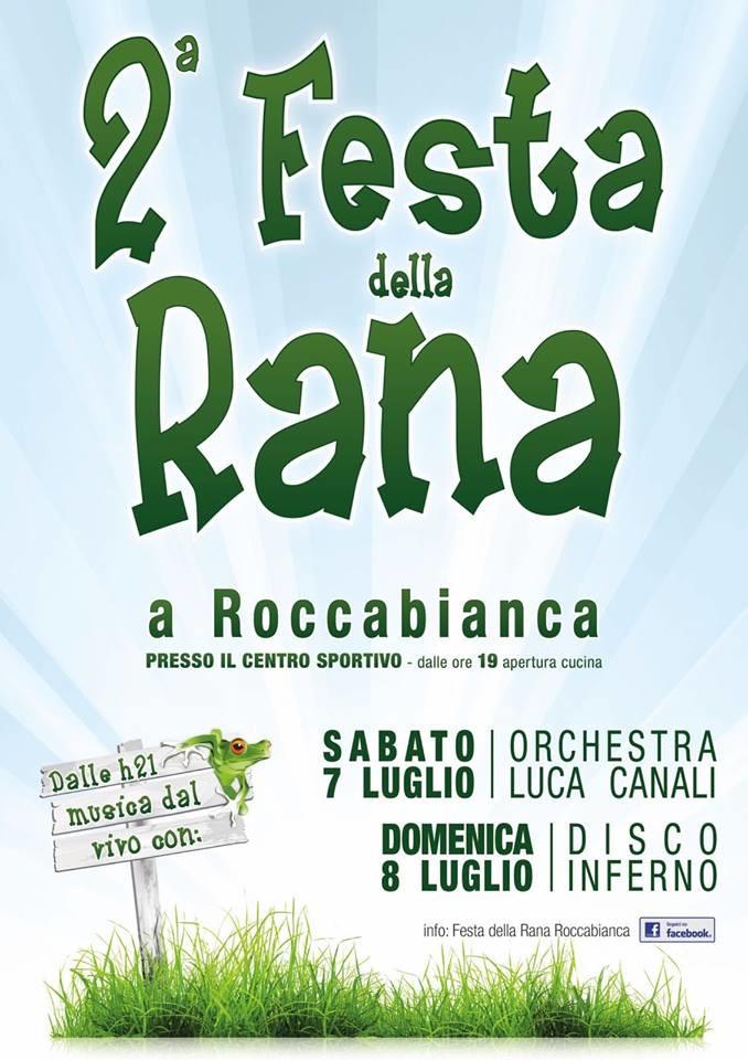 Festa della rana a Roccabianca