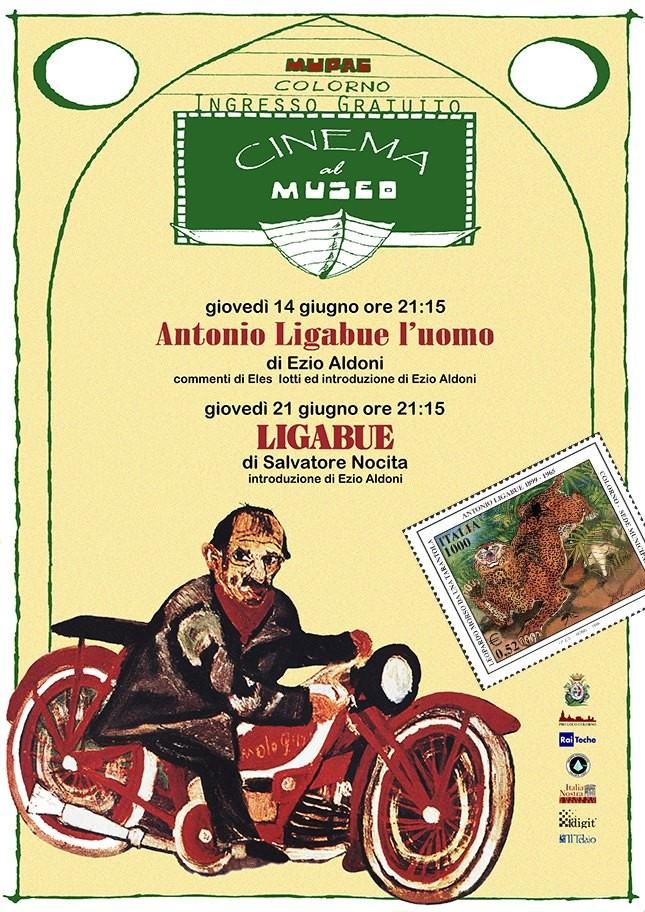 "Cinema al museo, ritorna proponendo docufilm su ""Ligabue"""