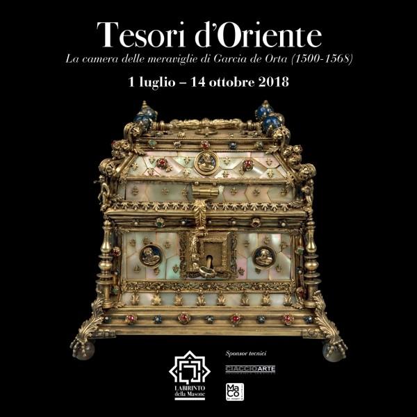 Mostra TESORI D'ORIENTE La Camera delle meraviglie di Garcia de Orta