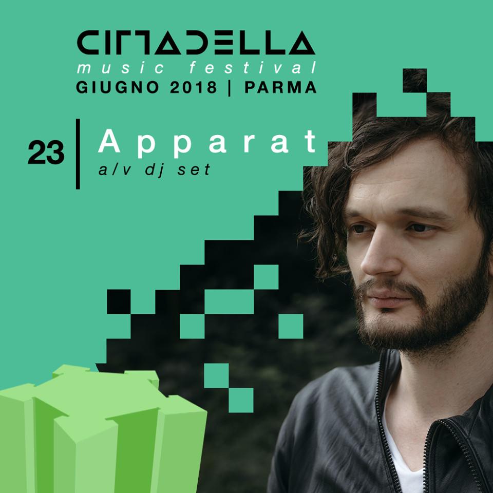 CITTADELLA MUSIC FESTIVAL: Apparat,