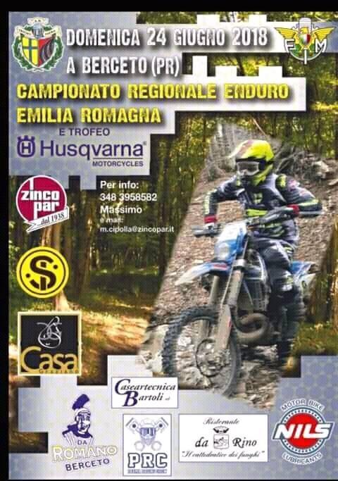 """A Berceto """"Campionato  Regionale Enduro Emilia Romagna"""""""