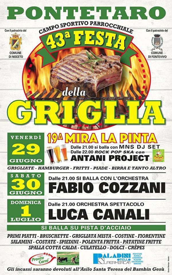 Festa della griglia a Pontetaro