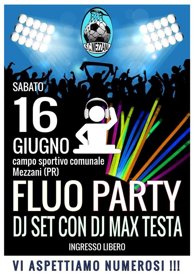 Flou party a Mezzani