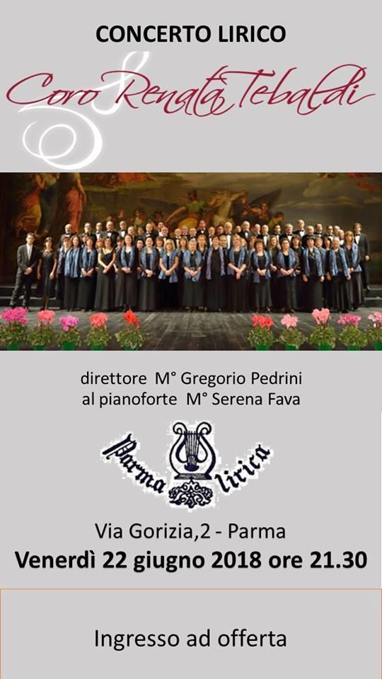 Concerto lirico del Coro Renata Tebaldi