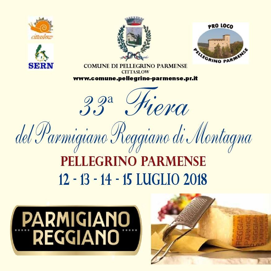 33^ FIERA DEL FORMAGGIO PARMIGIANO REGGIANO DI MONTAGNA
