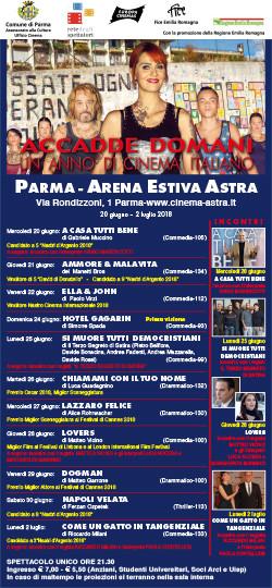 ACCADDE DOMANI, UN ANNO DI CINEMA ITALIANO