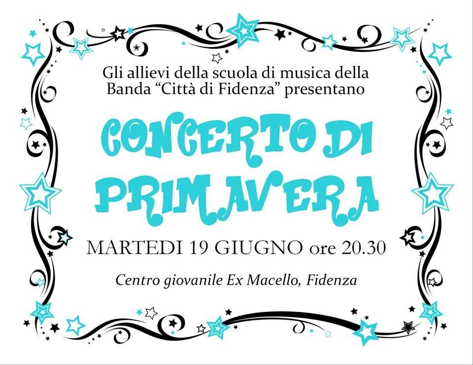 Concerto di primavera a Fidenza