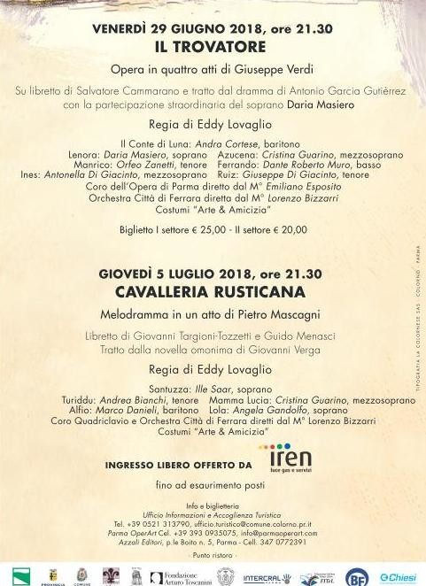 Notturni in Musica alla Corte della Duchessa, 6^ edizione