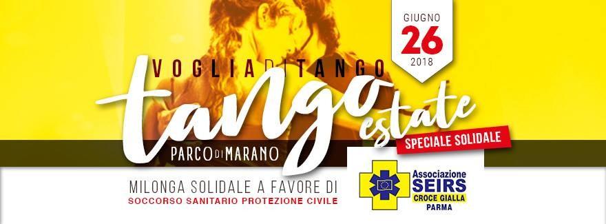 Tango estate con Voglia di tango, milonga solidale