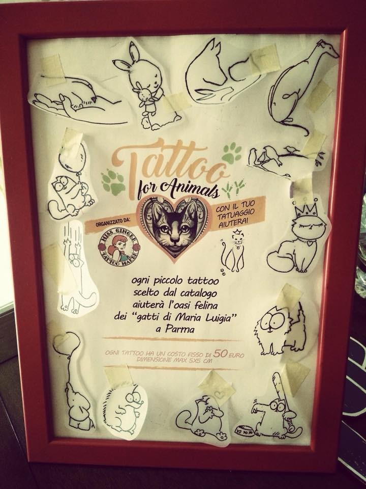 Tattoo for animals