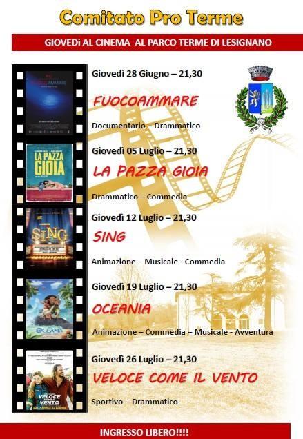 CINEMA ALLE TERME a Lesignano