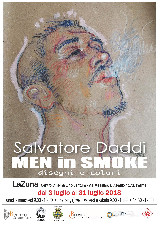 """""""Men in Smoke""""  Le opere di Salvatore Daddi in mostra A  LaZona"""