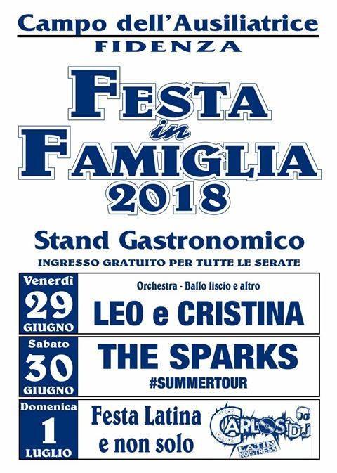 Festa in Famiglia 2018, organizzata dalla parrocchia di San Donnino di Fidenza.