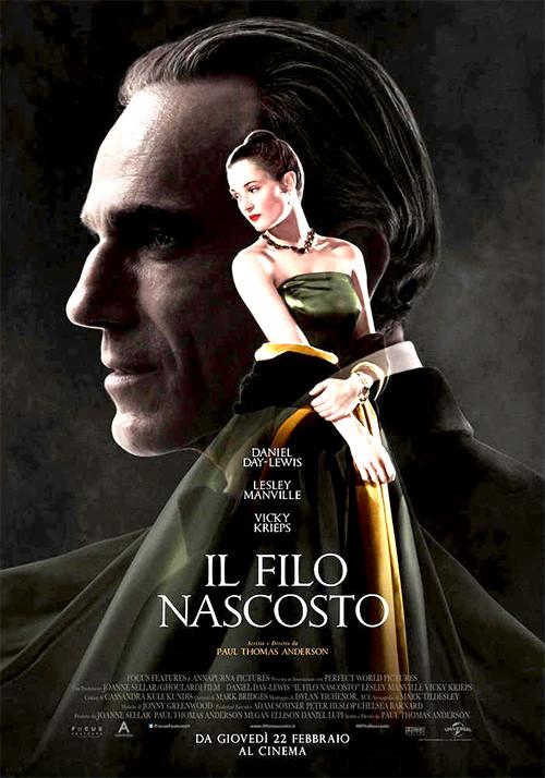 IL FILO NASCOSTO  Vincitore di 1 Premio Oscar all ARENA ESTIVA D'AZEGLIO-PARMA