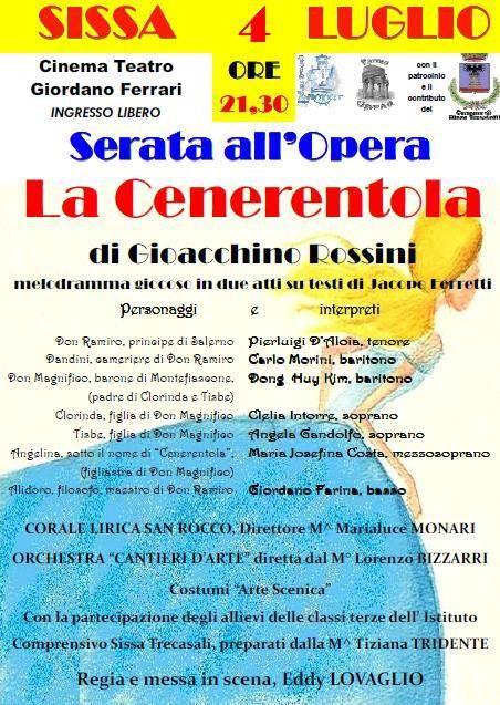 Serata all'Opera: La cenerentola
