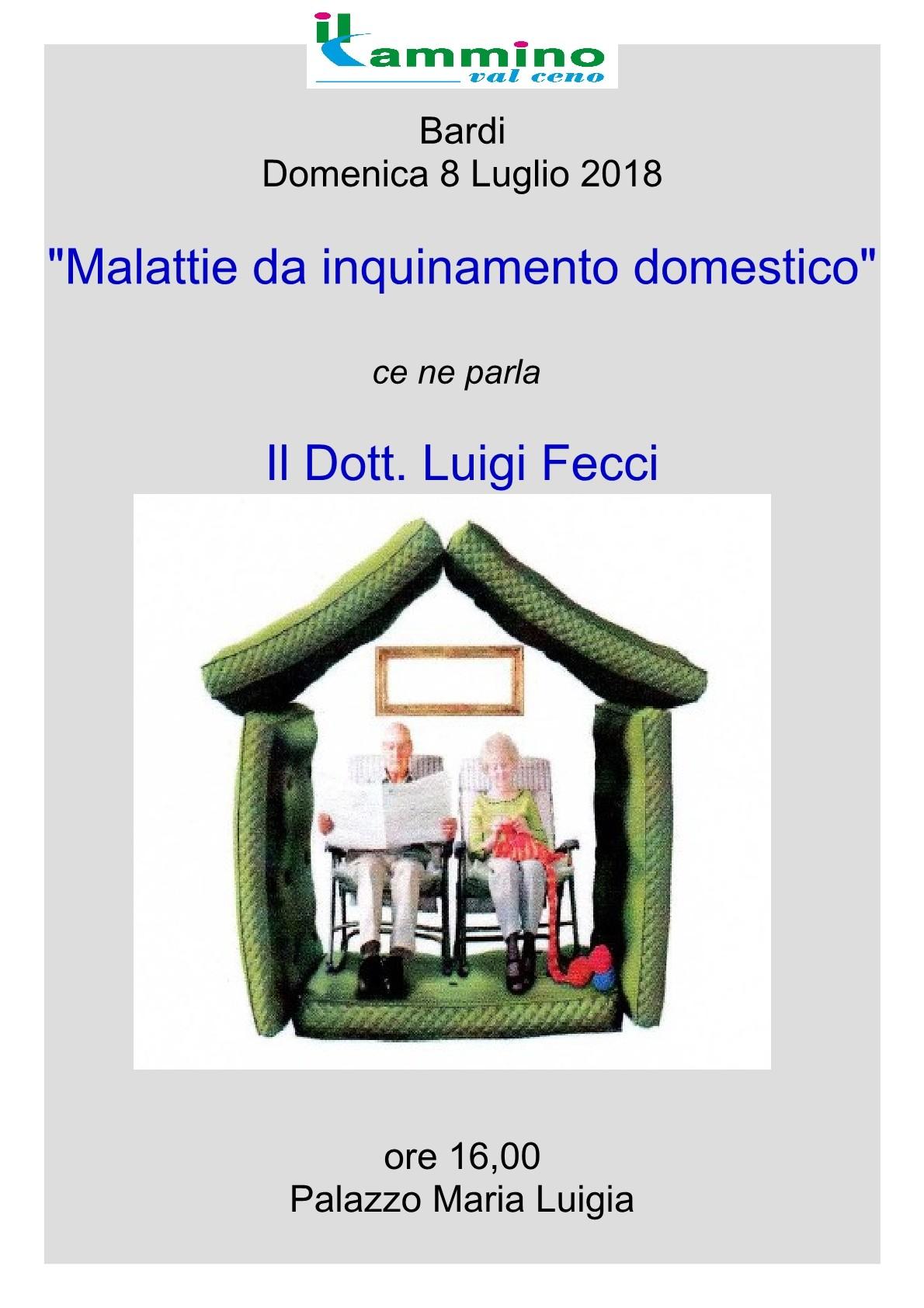 Il Dott. Luigi Fecci  parla di come prevenire le  malattie causate dall'inquinamento domestico.