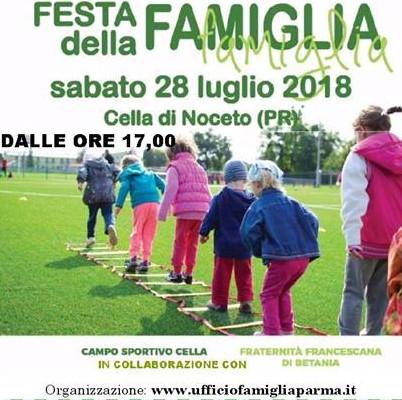 Festa della famiglia a Cella di Noceto