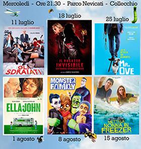 CINEMA AL PARCO NEVICATI, ESTATE 2018!