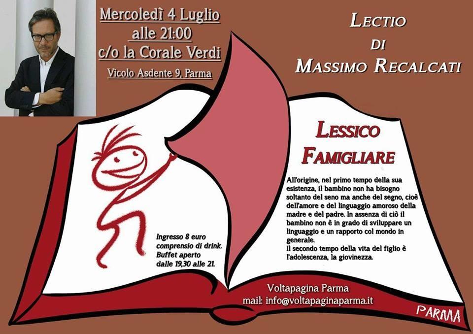 Lessico famigliare di Massimo Recalcati.