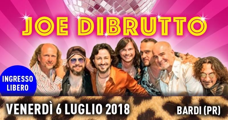 """Concerto """"Joe Dibrutto"""" - Ingresso Libero"""