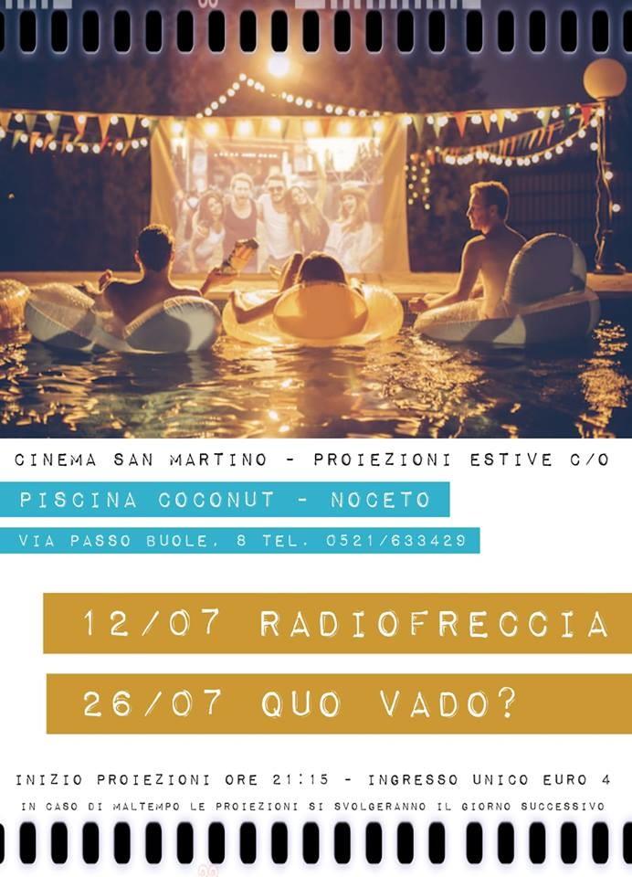 Cinema San Martino Noceto:  proiezioni estive