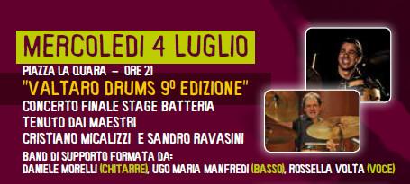 Sere d'estate a Borgotaro: Valtaro Drums
