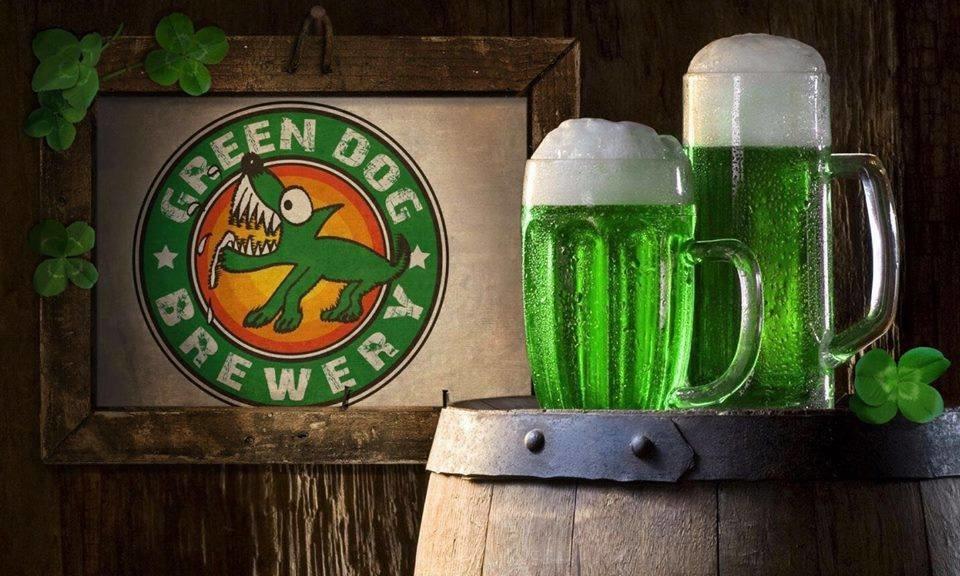 La notte verde con il Birrificio Green Dog all'OMBRE ROSSE