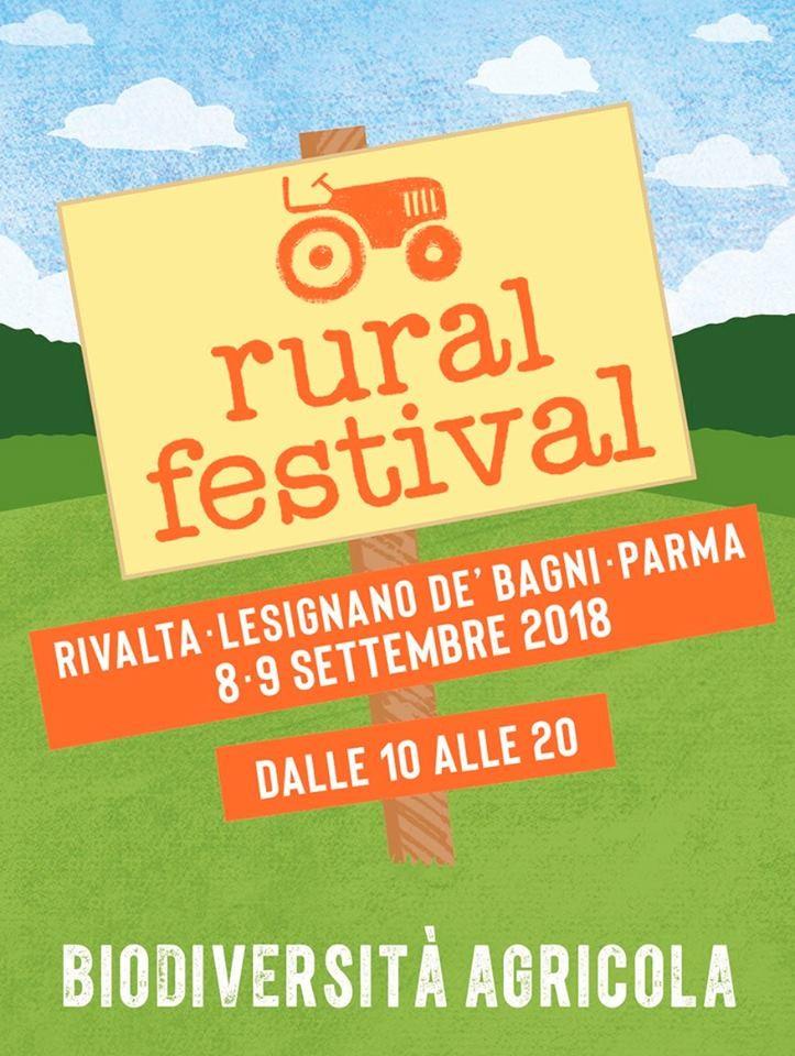 RURAL FESTIVAL, Festival della biodiversità agricola a Rivalta, Lesignano de'Bagni,