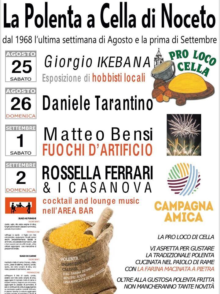Festa della Polenta a Cella di Noceto