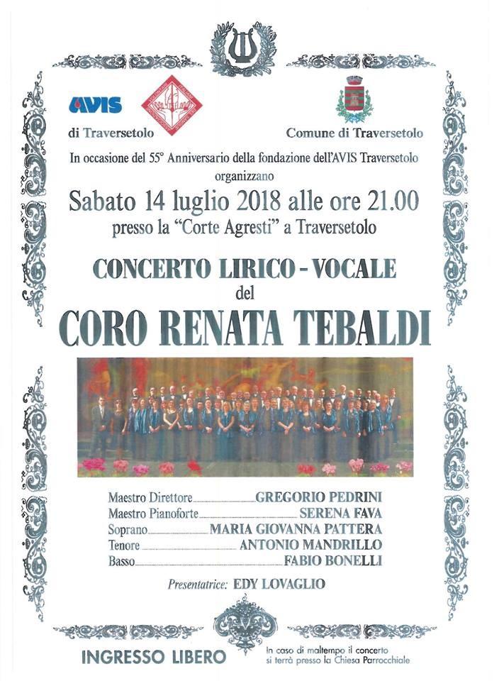 Concerto del coro Renata Tebaldi