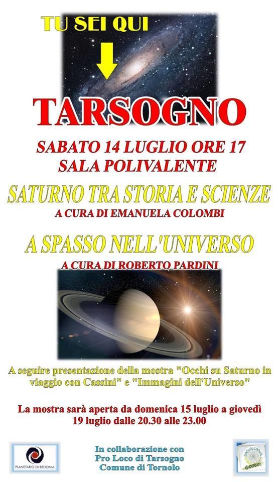 Saturno tra storia e scienza
