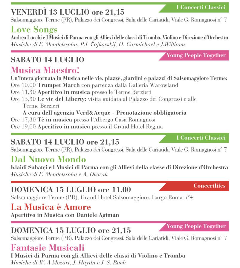 Salso Summer Class & Festival, programma dal 13 al 15 luglio. Sabato  il grande violinista Klaidi Sahatci
