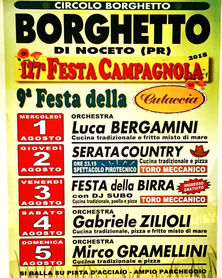 FESTA CAMPAGNOLA a Borghetto