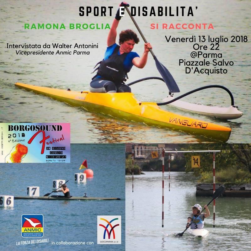 """Ramona Broglia si racconta a """"Sport e disabilità"""""""