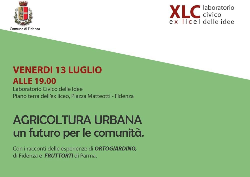 """Agricoltura urbana"" a Fidenza"