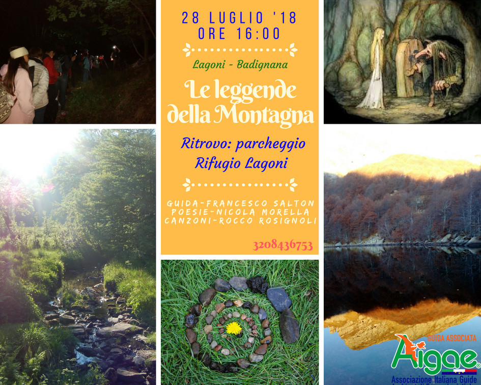 Escursione tra i Lagoni e il Badignana
