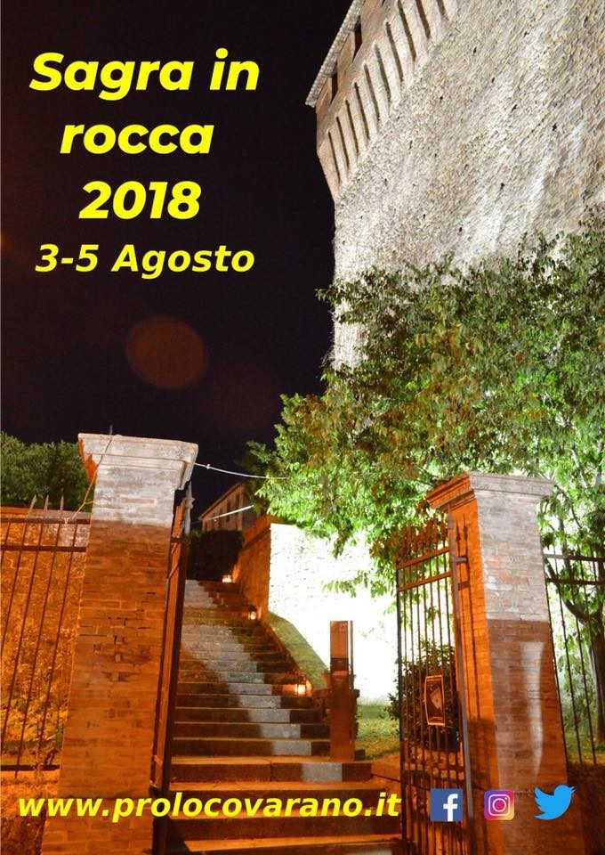 Sagra in Rocca 2018 a Varano De' Melegari
