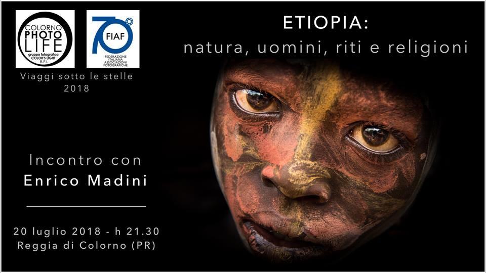 """A """"Viaggi sotto le stelle""""  Etiopa con Enrico Madini"""