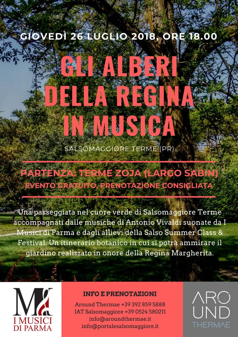Salso Summer Class & Festival 2018 Gli Alberi della Regina in Musica